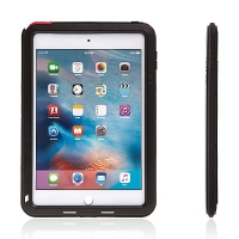 Super odolné kovové / silikonové pouzdro LOVE MEI pro Apple iPad mini 4 + Gorilla Glass - černé