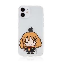Kryt Harry Potter pro Apple iPhone 12 mini - gumový - Hermiona - průhledný