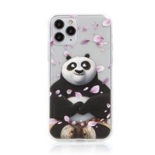 Kryt Kung Fu Panda pro Apple iPhone 11 Pro - gumový - Po a okvětní lístky