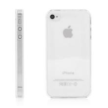 Ochranný plastový kryt pro Apple iPhone 4 / 4S - průhledný