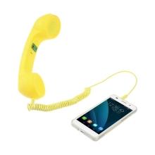 Sluchátko pro Apple iPhone - retro žluté