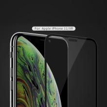 Tvrzené sklo (Tempered Glass) NILLKIN XD pro Apple iPhone Xr / 11 - 3D okraj - černý rámeček - čiré - 0,3mm