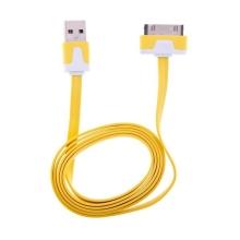Synchronizační a nabíjecí plochý USB kabel pro Apple iPhone / iPad / iPod