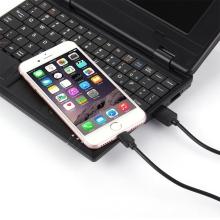 Synchronizační a nabíjecí kabel HAWEEL - Lightning pro Apple zařízení - černý - 1m