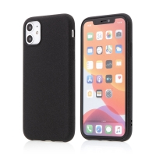 Kryt pro Apple iPhone 11 - matný - protiskluzový - gumový - černý