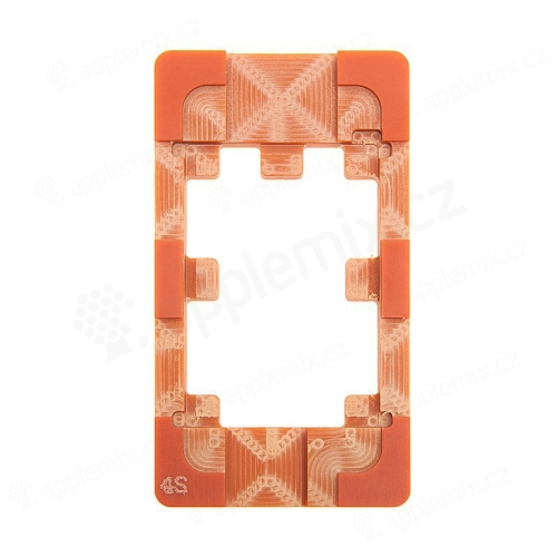 Šablona / matrice pro lepení LCD panelů Apple iPhone 4 / 4S