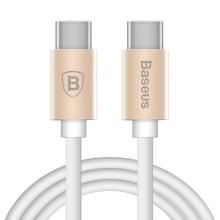 Kabel USB-C BASEUS Gather Series synchronizační a nabíjecí - zlatý - 1m