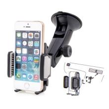Univerzální otočný držák do automobilu s přísavkou a úchytem na ventilační mřížku pro Apple iPhone a další zařízení