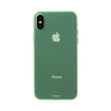 Kryt pro Apple iPhone X - ochrana čočky - ultratenký - plastový - zelený