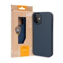 Kryt UAG Outback pro Apple iPhone 12 mini - kompostovatelný kryt - tmavě modrý