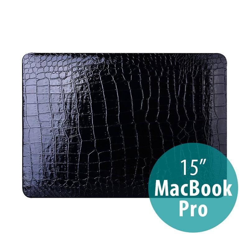 Obal / kryt pro Apple Macbook Pro 15 (2016, 2017) - plastový - vzor krokodýlí kůže