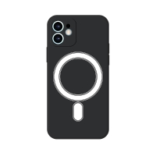Kryt pro Apple iPhone 12 mini - Magsafe - silikonový - černý