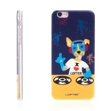 Kryt LOFTER pro Apple iPhone 6 / 6S gumový - pes DJ