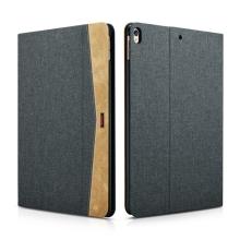 """Pouzdro XOOMZ pro Apple iPad Pro 10,5"""" / Air 3 (2019) - stojánek + funkce chytrého uspání - látkové - šedé"""