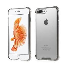 Kryt pro Apple iPhone 7 Plus / 8 Plus - plastový / gumový - průhledný / černý