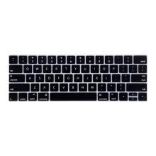 """Kryt klávesnice pro Apple MacBook Pro Retina 15,4"""" / 13,3"""" (2016) s Touchbarem - US verze - silikonový - černý"""
