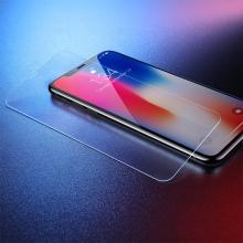 Tvrzené sklo (Tempered Glass) BASEUS pro Apple iPhone Xr / 11 - na přední část - čiré - 0,3mm
