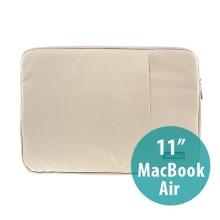 Pouzdro POFOKO se zipem pro Apple MacBook Air 11 - béžové