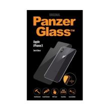 Tvrzené sklo (Tempered Glass) PANZERGLASS pro Apple iPhone X - na zadní část - 2,5D hrana - čiré - 0,4mm