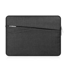 """Pouzdro / obal pro Apple MacBook Pro / Pro Retina 15"""" - látkové - černé"""