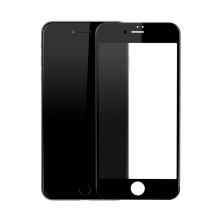 Baseus 3D tvrzené sklo (Tempered Glass) pro Apple iPhone 7 - Anti-blue-ray - černý rámeček - 0,23mm