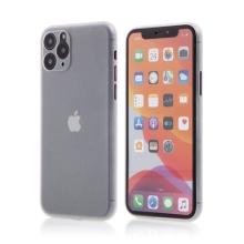 Kryt pro Apple iPhone 11 Pro Max  - s prvkem pro ochranu skla kamery - plastový - průhledný
