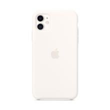 Originální kryt pro Apple iPhone 11 - silikonový - bílý