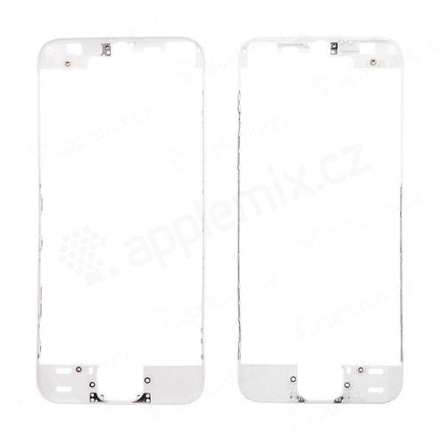Plastový rámeček předního panelu pro Apple iPhone 5S / SE - černý