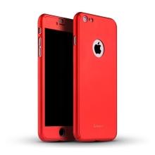 Kryt IPAKY pro Apple iPhone 6 / 6S - celotělový - plastový - červený