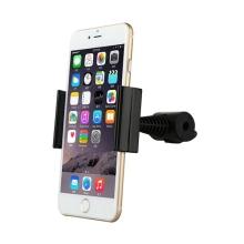 Držák BASEUS pro Apple iPhone - na opěrku - 360° otočný - černý
