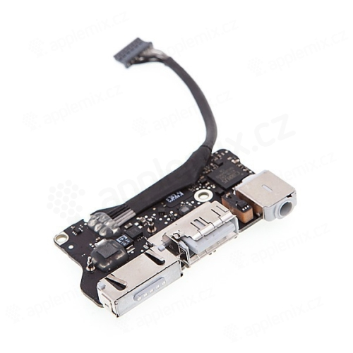 Napájecí konektor MagSafe 2 + USB port + sluchátkový konektor pro Apple MacBook Air 13 A1466 2013-2015