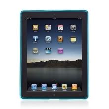 Ochranný kryt pro Apple iPad 2. / 3. / 4.gen. - průhledný – světle modrý
