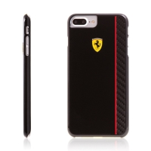 Kryt Ferrari Scuderia pro Apple iPhone 7 Plus / 8 Plus plastový - černý