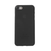 Kryt / obal pro Apple iPhone 7 / 8 - ochrana čočky - ultratenký - plastový - matný - černý