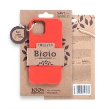 Kryt FOREVER BIOIO - pro Apple iPhone 12 / 12 Pro - Zero Waste kompostovatelný kryt - červený