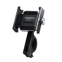 Držák na kolo / motorku BASEUS pro Apple iPhone - univerzální - pevný - plast / kov - černý