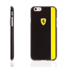Kryt Ferrari Scuderia pro Apple iPhone 6 / 6S plastový - černý / žlutý