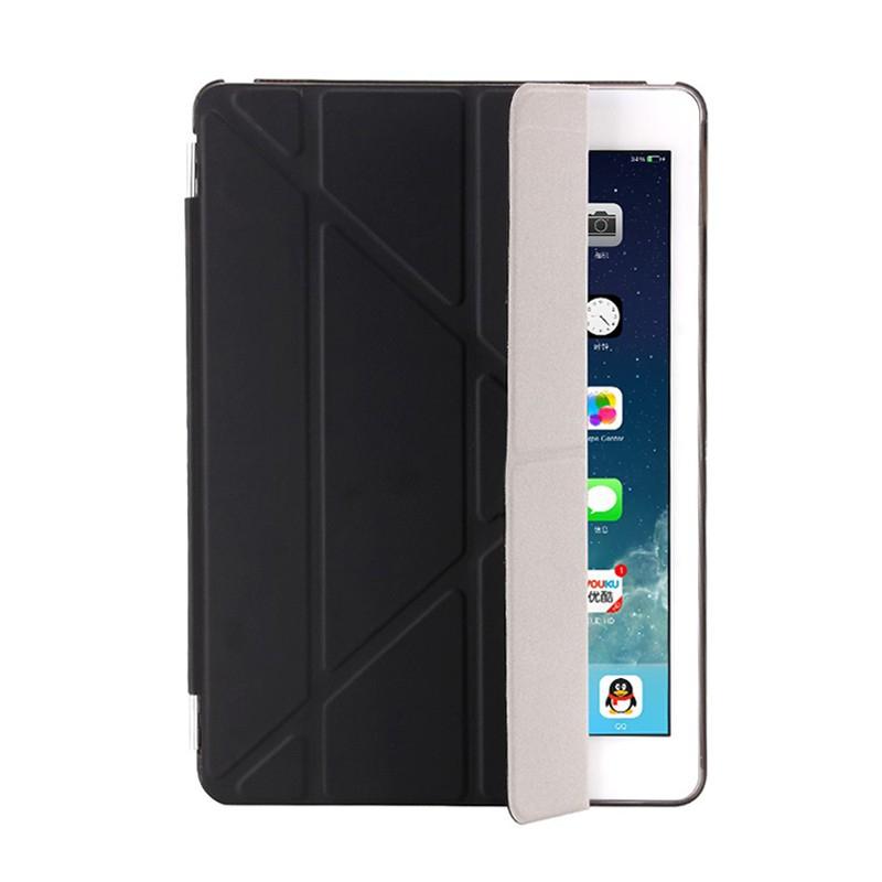 Pouzdro / kryt pro Apple iPad 9,7 (2017-2018) - odnímatelný Smart Cover - stojánek - plastové - černé