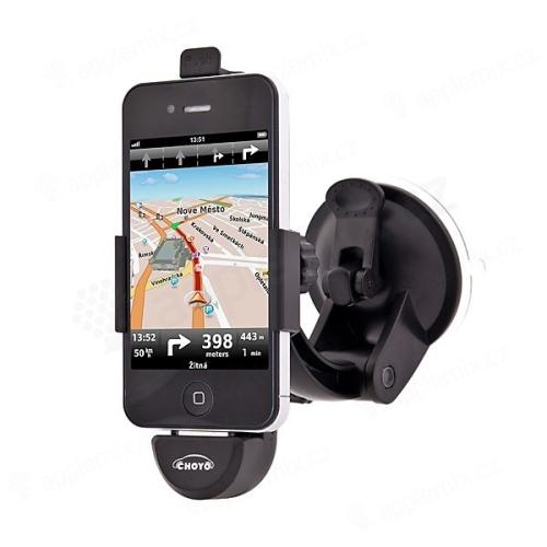 Držák do auta pro Apple iPhone 4 / 4S - s nabíječkou