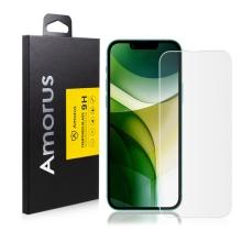 Tvrzené sklo (Tempered Glass) AMORUS pro Apple iPhone 13 mini - přední - 2D - 0,26mm