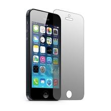 Super odolné privacy tvrzené sklo (Tempered Glass) na přední část Apple iPhone 5 / 5C / 5S / SE - tmavá