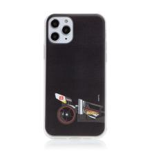 Kryt HOT WHEELS - pro Apple iPhone 11 Pro - gumový - formule - černý
