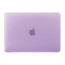 "Obal / kryt pro MacBook Air 2018 13.3"" (A1932) - plastový - fialový"