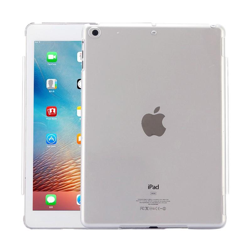 Kryt / obal pro Apple iPad Air 1.gen / iPad 9,7 (2017-2018) - plastový - lesklý - ultratenký - průhledný
