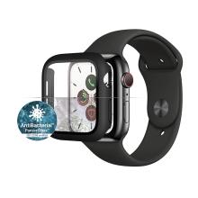 Tvrzené sklo + rámeček PANZERGLASS pro Apple Watch 40mm Series 4 / 5 / 6 / SE - černý