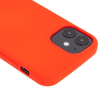 Kryt pro Apple iPhone 12 mini - příjemný na dotek - silikonový