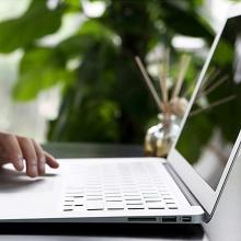 Kryt klávesnice ROCK pro Apple MacBook Air 11 - průhledný - US verze