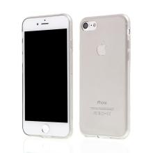 Kryt pro Apple iPhone 7 / 8 gumový tenký ochranný - šedý