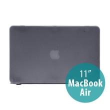Tenký ochranný plastový obal pro Apple MacBook Air 11.6 - lesklý - černý