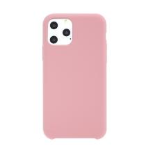 Kryt pro Apple iPhone 11 Pro Max - gumový - příjemný na dotek - růžový